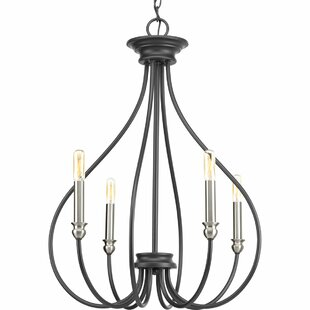 Gracie Oaks Chaney 4-Light Candle Style C..