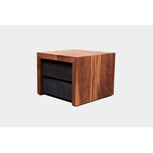 SQR 2 Drawer Nightstand