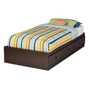 Zach Twin Mate's & Captain's Bed with 3 Drawers by South Shore