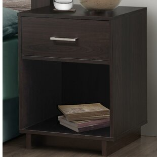Chicopee Wood 1 Drawer Nightstand Zipcode Design