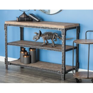 Reviews Wood Console Table By Cole & Grey