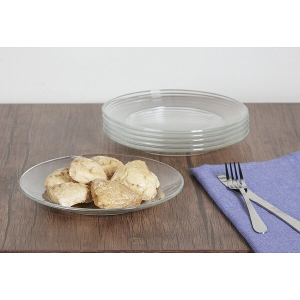 Wayfair Basics Glass Salad/Dessert Plates