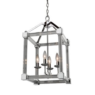 Brayden Studio Threlkeld 4-Light Foyer Pendant