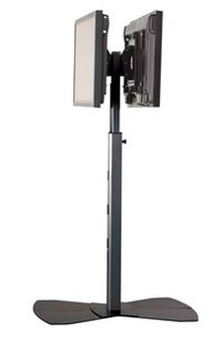 Coupon Tilt Universal Floor Stand Mount for 30 - 55 Flat Panel Screens ByChief Manufacturing