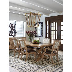 Los Altos 7 Piece Extendable Dining Table Set Tommy Bahama Home