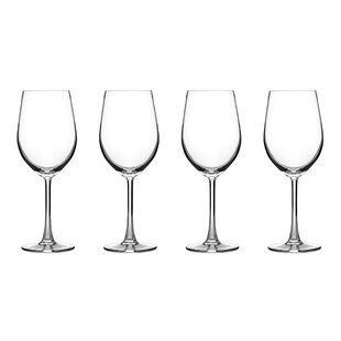 Classic 14 oz. Crystal Stemmed Wine Glass (Set of 4)