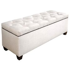 roessler upholstered storage bench