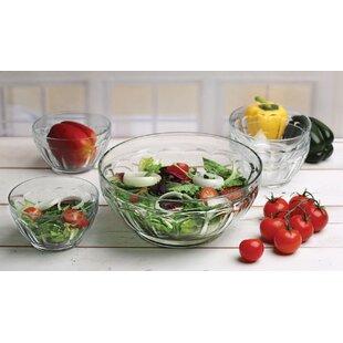 Popular 5 Piece Salad Bowl Set ByCircle Glass