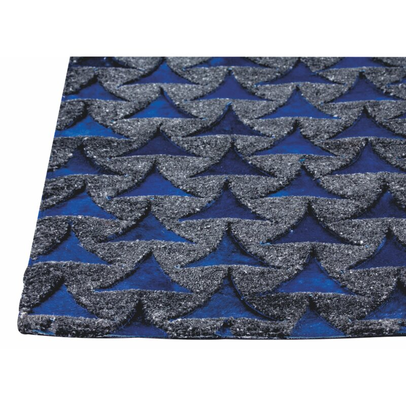 Mercer41 Narcisse Handmade Blue Rug Wayfair