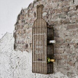 5 Bottle Wall Mounted Wine Rack (Set Of 4) By Riviera Maison