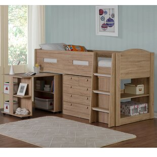 Obadiah Single Mid Sleeper Bed With Furniture Set By Harriet Bee