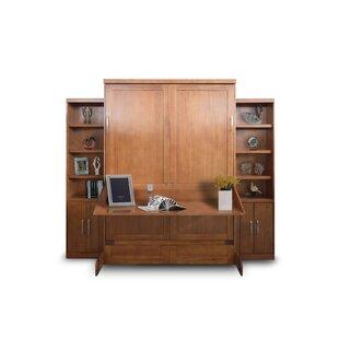 queen murphy bed desk. Delapaz Desk/Bookcase Queen Storage Murphy Bed Desk D