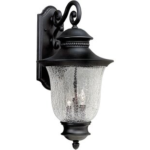 Alcott Hill Hartsell 3-Light Outdoor Wall Lantern