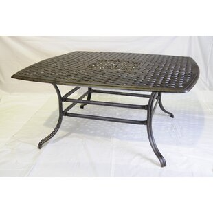 Villarreal Square Aluminum Dining Table