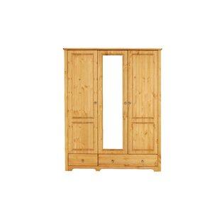 Livadia 3 Door Wardrobe By August Grove
