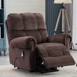 Addia Power Reclining Heated Massage Chair by Red Barrel Studio®
