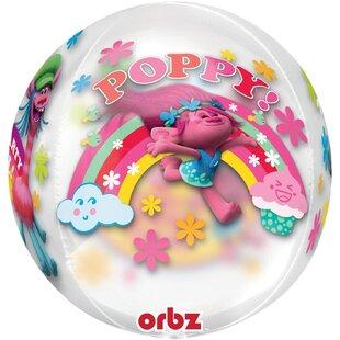 Trolls Orbz Foil Disposable Balloon