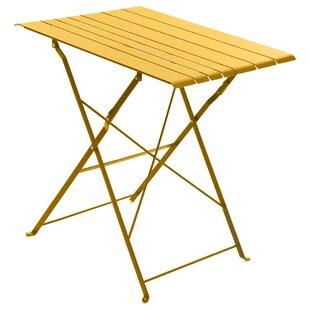 Nidavellir Folding Steel Bistro Table Image