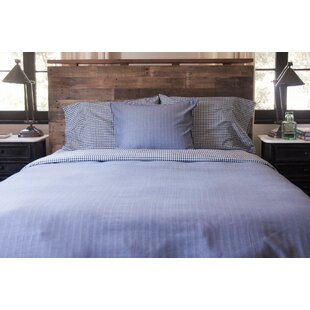 Darby Home Co Baulch Cotton Reversible Duvet Cover Set