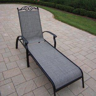 August Grove Basile Chaise Lounge