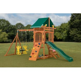 Gorilla Playsets Treasure Trove Ii Swing Set New Patio Furniture
