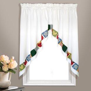 Swag Curtains For Living Room | Wayfair