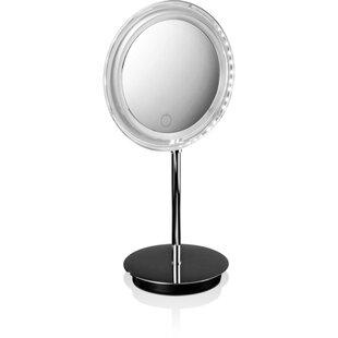 Symple Stuff Kraemer Touch LED Dimmer Makeup/Shaving Mirror