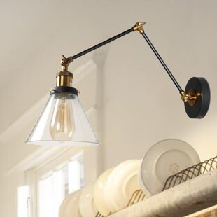 1- Light Swing Arm Lamp by LNC Home