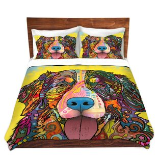 East Urban Home Bernese Mountain Dog Duvet Set