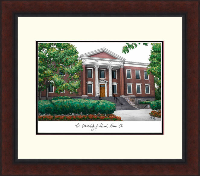 Campus Images Ncaa Akron Zips Legacy Alumnus Lithograph Picture Frame Wayfair