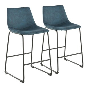 Amendola 26 Industrial Bar Stool (Set of 2)