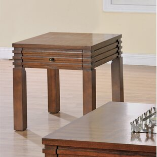 Stegner End Table with Storage