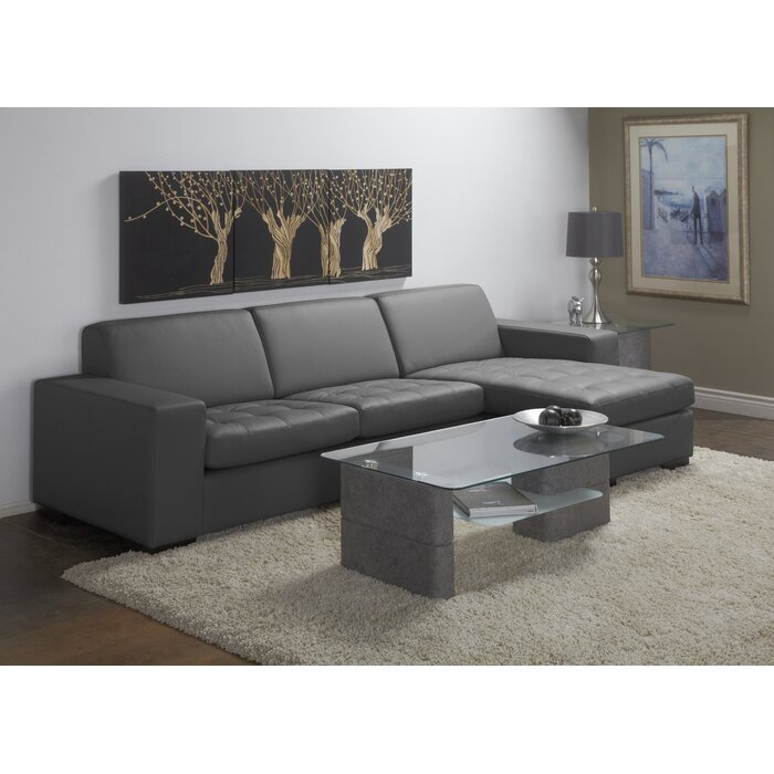 Fabulous Wenlock Leather Sectional Gmtry Best Dining Table And Chair Ideas Images Gmtryco