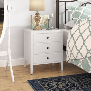 Rushville 3 Drawer Nightstand