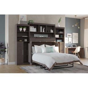 Pisek Storage Murphy Bed with Mattress