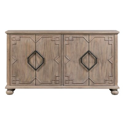George Oliver Draughn Sideboard George Oliver Color Base Top Natural Chrome From Wayfair North America Daily Mail