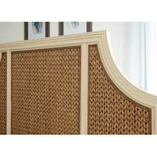 Bridge Hampton Woven Seagrass Panel Headboard