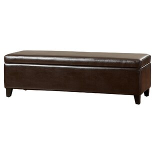 Alcott Hill Geffray Storage Bench