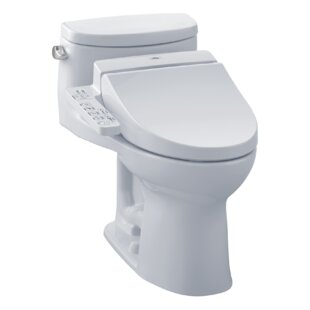 Toto Supreme 1.28 GPF (Water Efficient) Elongated One-Piece Toilet (Seat I..