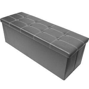 Alyce Folding Storage Ottoman by Winston Porter