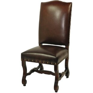 Darby Home Co Bonded High Back Side Chair