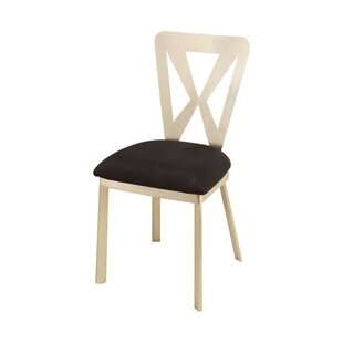 Hirshfield Metal Upholstered Dining Chair..
