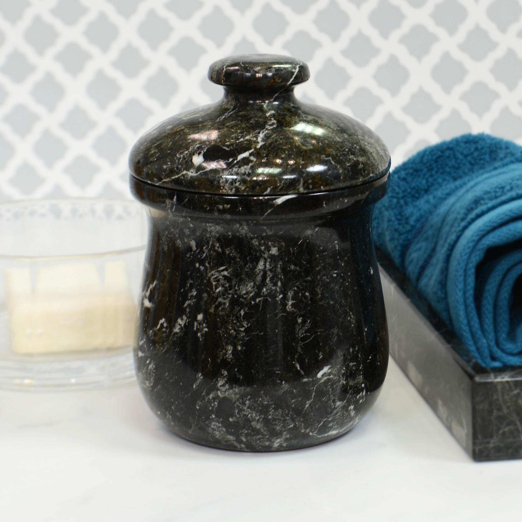 Astoria Grand Polished Storage Jar Wayfair