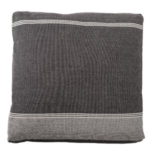Cozad Cotton Woven Floor Pillow