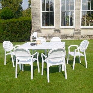 Alloro 6 Seater Dining Set By Nardi