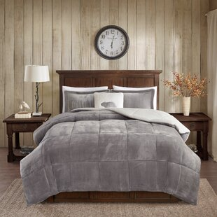 Woolrich Alton Plush to Sherpa Comforter Set