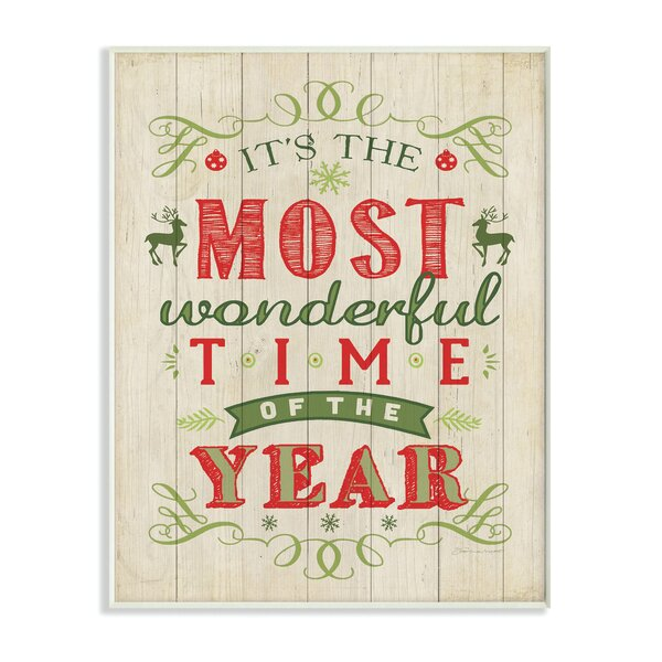 christmas wall art decor youll love wayfair