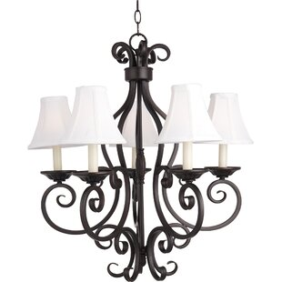 Anella 5-Light Shaded Chandelier by Darby Home Co
