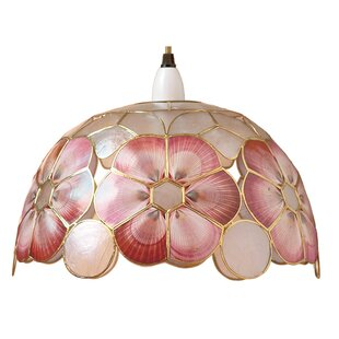 capiz shell light shades wayfair co uk