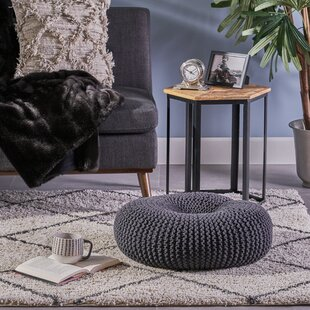 Maas Knitted Donut Pouf